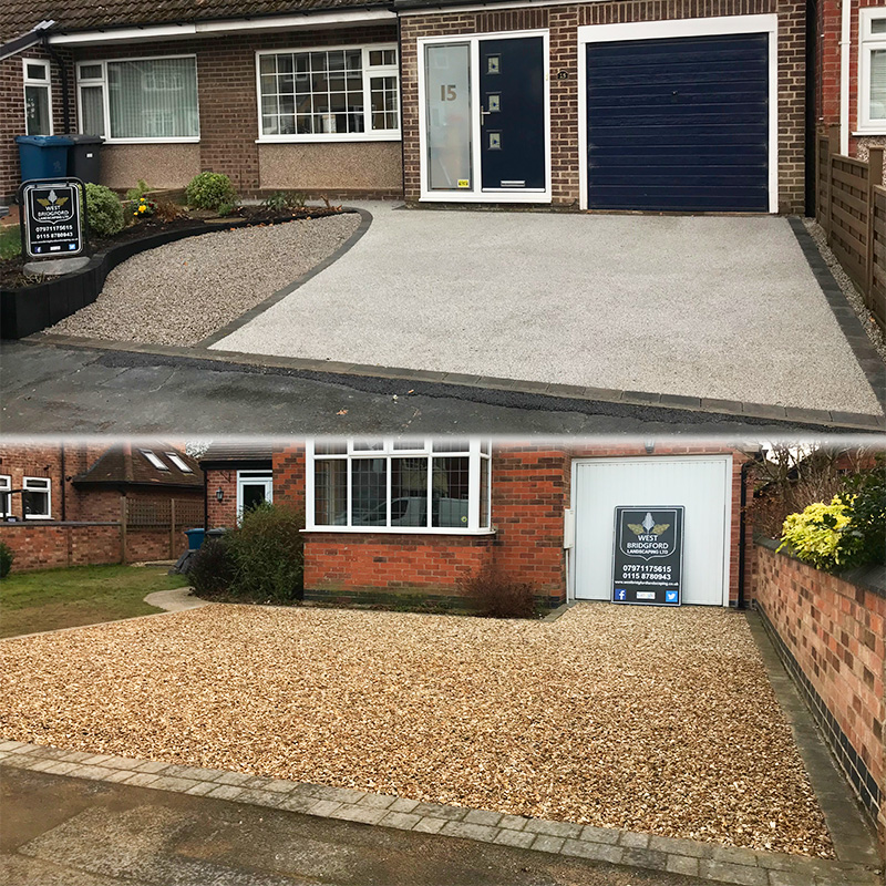 Two Gravel Driveway Installations By West Bridgford Landscaping Ltd - Conclusion