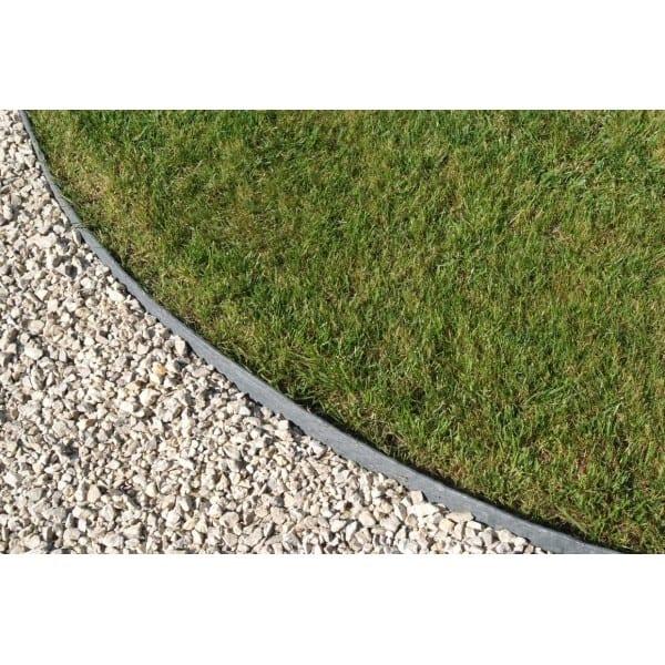 Ecolat Garden Lawn Edging Slate Grey - 10M