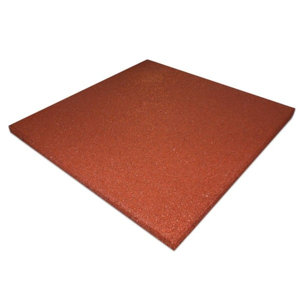 4 Qty Rubber Roof Tile - Red