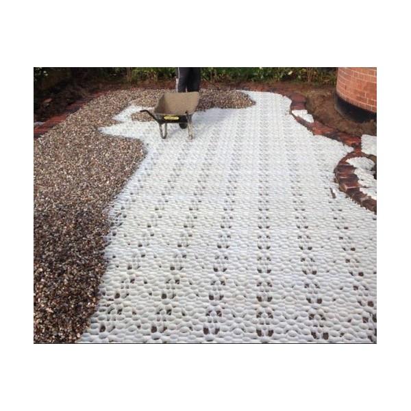 X-Grid® White Gravel Driveway Grids