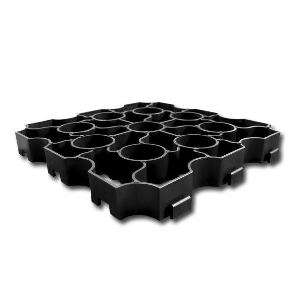 X-Grid Black Single Panel